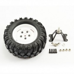 FASTRAX 'KONG' CRAWLER SPARETYRE/1.9 SCALE WHEEL 90mm (WH)