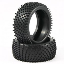 FASTRAX 1/8 TWISTER-T TRUGGYSPIKE VTR - MED COMPOUND TYRE