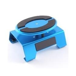 BLUE ALUM LOCKING ROTATING CARMAINTENANCE STAND w/MAGNET