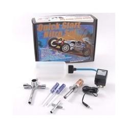 NITRO STARTER BOX w/2x Wrenchs/drivers,starter,chgr,bottle