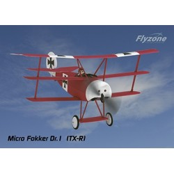 FlyZone - Micro Fokker DR1 WWI Tx-R