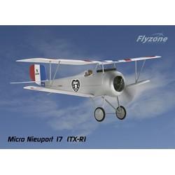 FlyZone - Micro Nieuport 17 WWI TxR