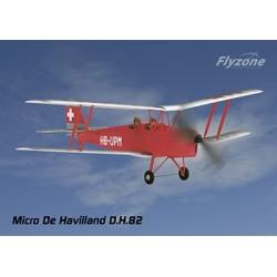 FlyZone - Micro DH.82 Tiger Moth Biplane Tx-R