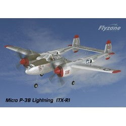 FlyZone - P-38 Lightning Micro Tx-R
