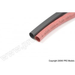 G-Force RC - Schrumpfschlauch 9.5mm, Rot + Schwarz (10St)