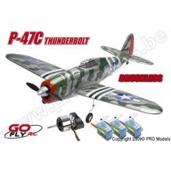 P-47C THUNDERBOLT PLUG & FLY