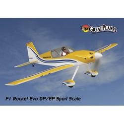GreatPlanes - F-1 Rocket Evo .46-.55 EP Sport Scale ARF