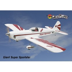 GreatPlanes - Giant Super Sportster ARF