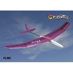 GreatPlanes - Fling Hand Launch Sailplane ARF