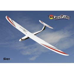 GreatPlanes - Siren T-Tail Hotliner Type Sailplane ARF