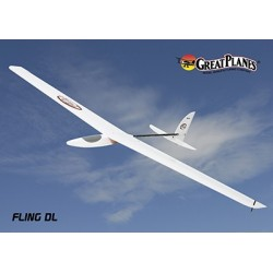 GreatPlanes - Fling Sport Discus Launch Glider ARF