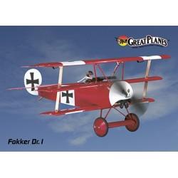 ElectriFly - Fokker Dr.1 WW1 Park Flyer EP ARF