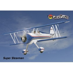 GreatPlanes - EP Super Stearman Biplane ARF