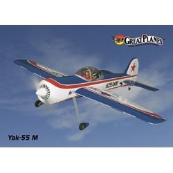 "GreatPlanes - EP Yak 55m 50"" Sport Scale Aerobatic ARF"