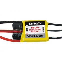 ElectriFly - Silver Series 25A Brushless ESC 5V/2A BEC