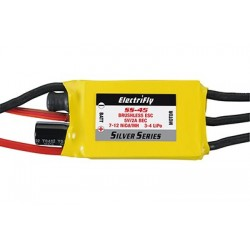 ElectriFly - Silver Series 45A Brushless ESC 5V/2A BEC