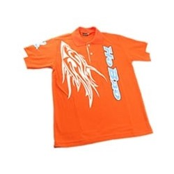 HOBAO POLO SHIRT ORANGE (LRG)