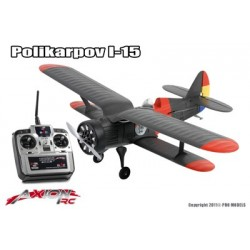 Axion RC - I-15 Polikarpov, RTF 2.4gHz Mode 2