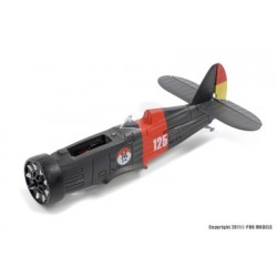 Axion RC - I-15 Polikarpov Fuselage assembly (Motor + Gearbox included)