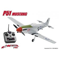 Axion RC - P51 Mustang, RTF 2.4gHz Mode 1