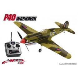 Axion RC - P40 Warhawk, RTF 2.4gHz Mode 1