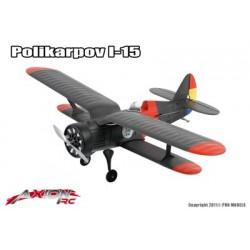 Axion RC - I-15 Polikarpov, BNF (Bind + Fly)