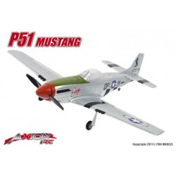 Axion RC - P51 Mustang, L+F (Link + Fly)