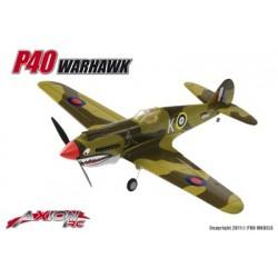 Axion RC - P40 Warhawk, L+F (Link + Fly)