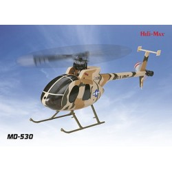 Helimax - MD530 Scale FP Flybarless SLT Heli RTF