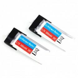 HiSKY FBL100 LIPO BATTERY 3.7V 300mAh 30C (2)