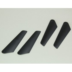 Upper and Lower Main Rotor Blade Set (1 pair each): Chronos