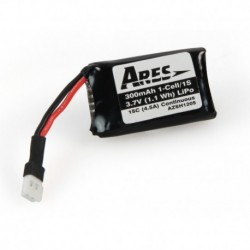 280mAh 1-Cell/1S 3.7V 15C LiPo Battery, Micro A Connector: E