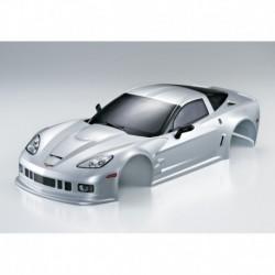 Corvette GT2 190mm, Silber, RTU all-in
