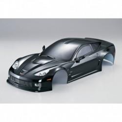 Corvette GT2 190mm, Schwarz, RTU all-in