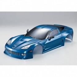 Corvette GT2 190mm, Metallic-Blau, RTU all-in