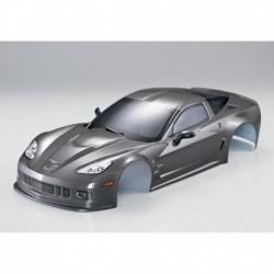 Corvette GT2 190mm, Silber-Grau, RTU all-in