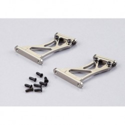 "Aluminium Flügelhalter CNC ""grau"" Hohe Version ""1/7"""