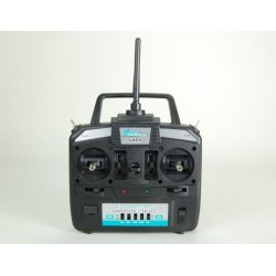 6HPA 6-Channel HP Airplane Transmitter, Mode 1: Gamma 370