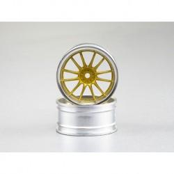Drift Felgen verchromt V-Speiche (gold / silber) 4 Stk.