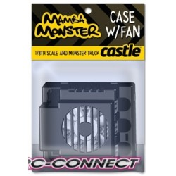 CC-011-0001-00 Castle Creations Monser spare case with fan