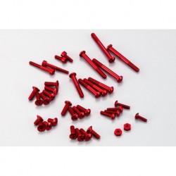 Alminum screw Set for EX-1 KIY RED