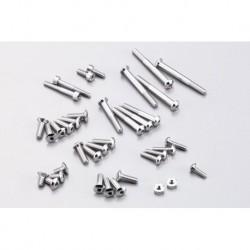 Alminum screw Set for EX-1 KIY Silver