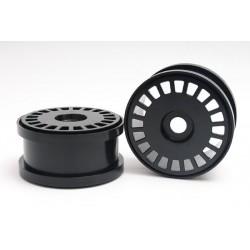 Half-Disc Felge schwarz (für 140 & 155mm Reifen)