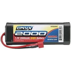 Duratrax - NiMH Onyx 7.2V 2000mAh Stick Deans U Plug