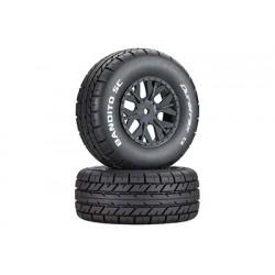 Duratrax - Bandito SC Tire C2 Mounted ASC SC10 4x4 (2)