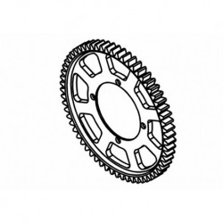 Center Spur Gear Z62 (Opt.)