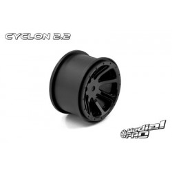 "Medial Pro - Rims ""Cyclon 2.2"" Black (2 pcs), fits REVO 1/16 series"