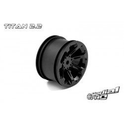 """Medial Pro - Rims """"Titan 2.2"""" Rear Black (2 pcs), fits BANDIT/VXL"""