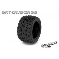 "Medial Pro - Tyres w/ Foam inserts ""Dirt Crusher 2.2"" , fits ""Cyclon 2.2"" Rims"