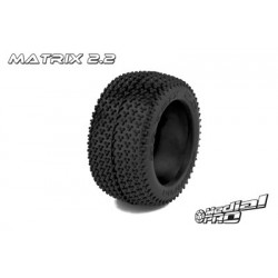 "Medial Pro - Tyres w/ Foam inserts ""Matrix 2.2"" , fits ""Cyclon 2.2"" Rims"